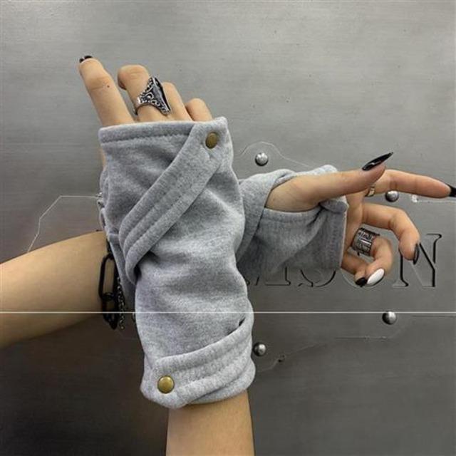 【小物】個性的ファッションストリート系ダンス手袋52132576