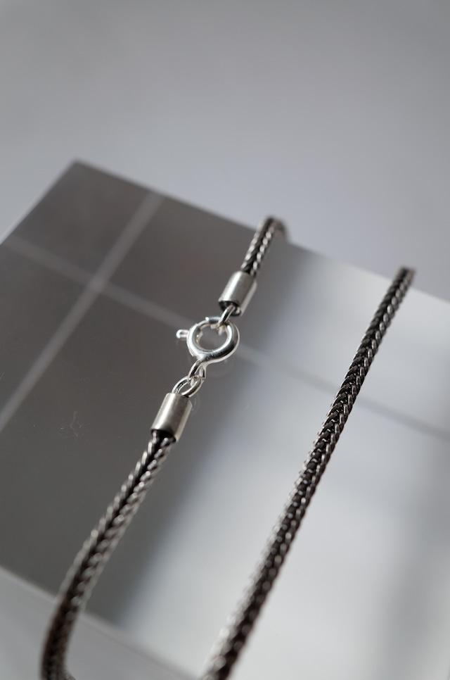 Silver Cahin Necklace 45cm - 006
