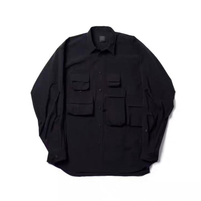 フィッシングシャツジャケット |ミリタリー シャツ シャツジャケット 秋服 DAIWAPIER風