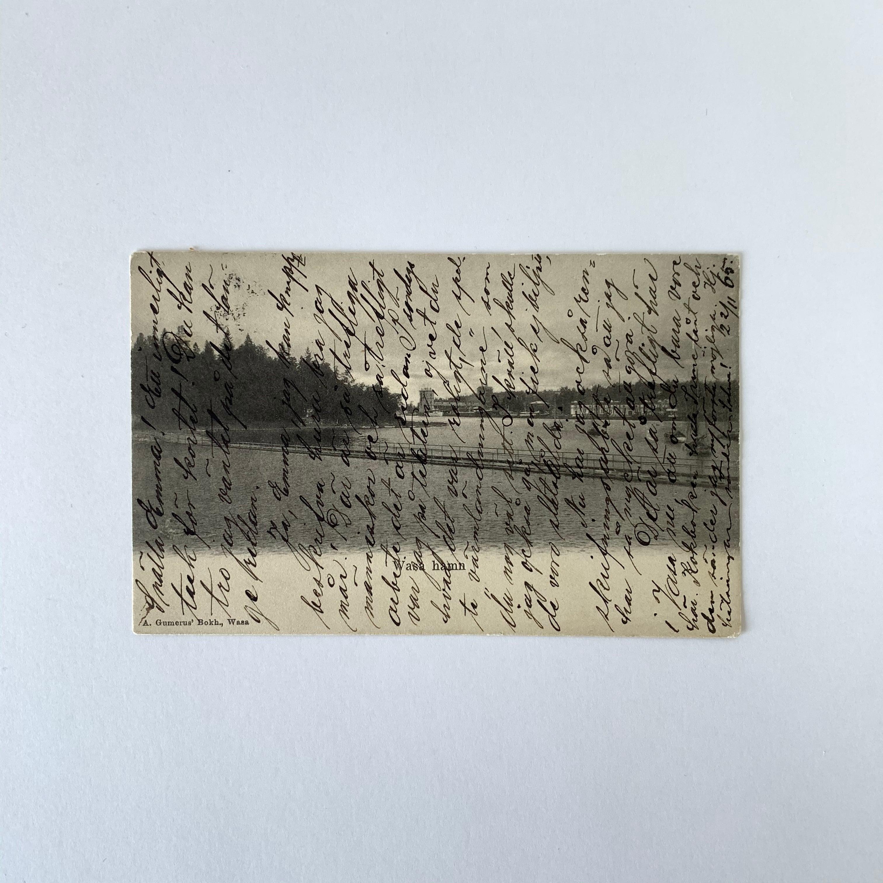 Antique Postcard No.027