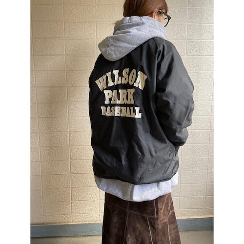 """WILSON PARK BASEBALL"" coach jacket"