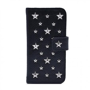 ENLA BY ENCHANTED.LA NOTEBOOKTYPE LEATHER STARS CASE / SEMI CUSTOM ORDER MADE