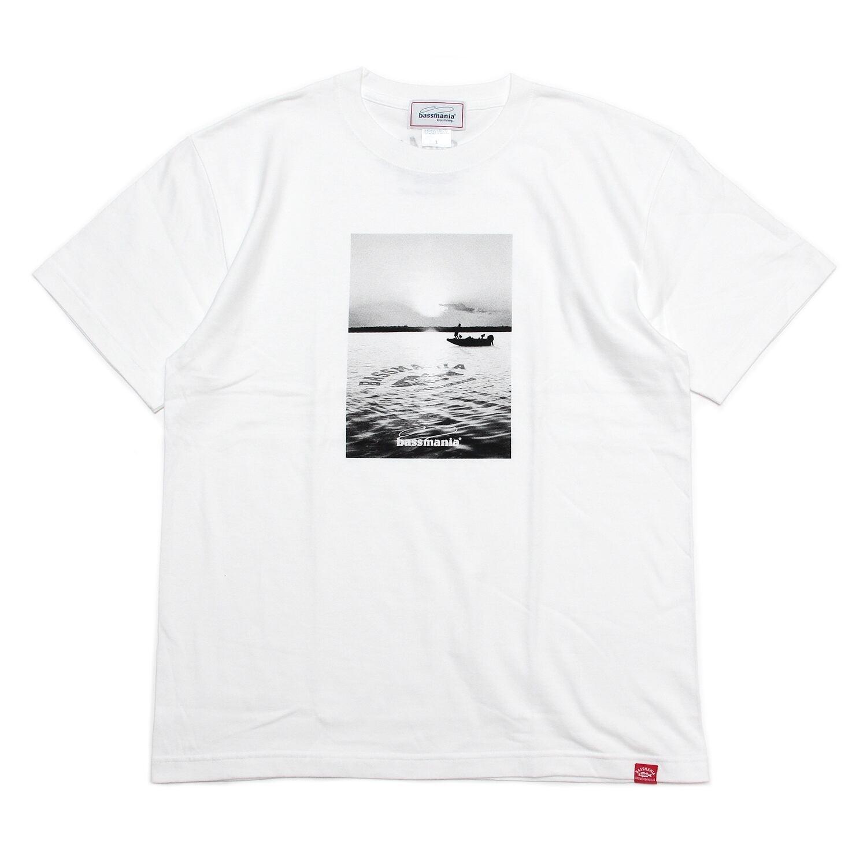 LAKE photo Tシャツ [WHT]