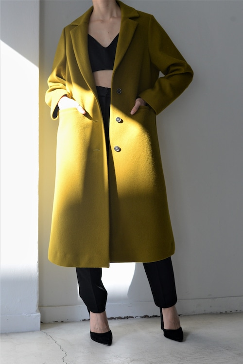 ROOM211 unique / wool coat (mustard)