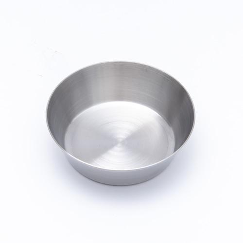 韓国ステンレス食器/カップ/浅型(3号)【直径10㎝/高さ3㎝】