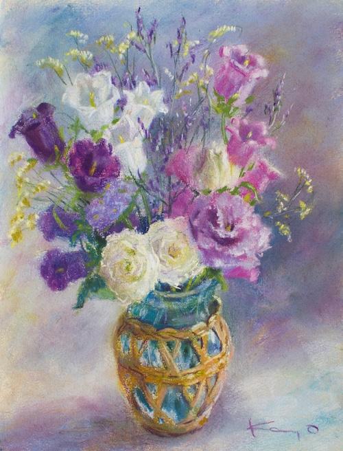 NO.151「紫色の花束」