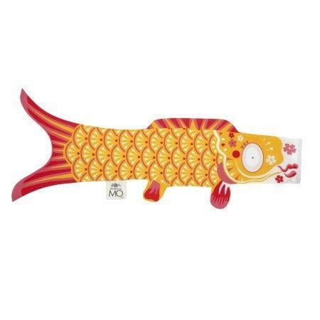 展示品 Madame MO(マダムモー)こいのぼり Sサイズ70cm  K007 aune Indien  Indian Yellow