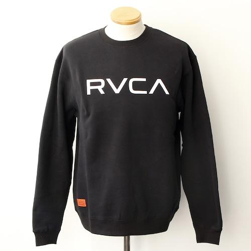 【RVCA】BIG RVCA CREW (BLACK)