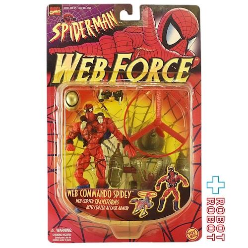 トイビズ スパイダーマン ウェブフォース ウェブ コマンド スパイディ 6インチ アクションフィギュア