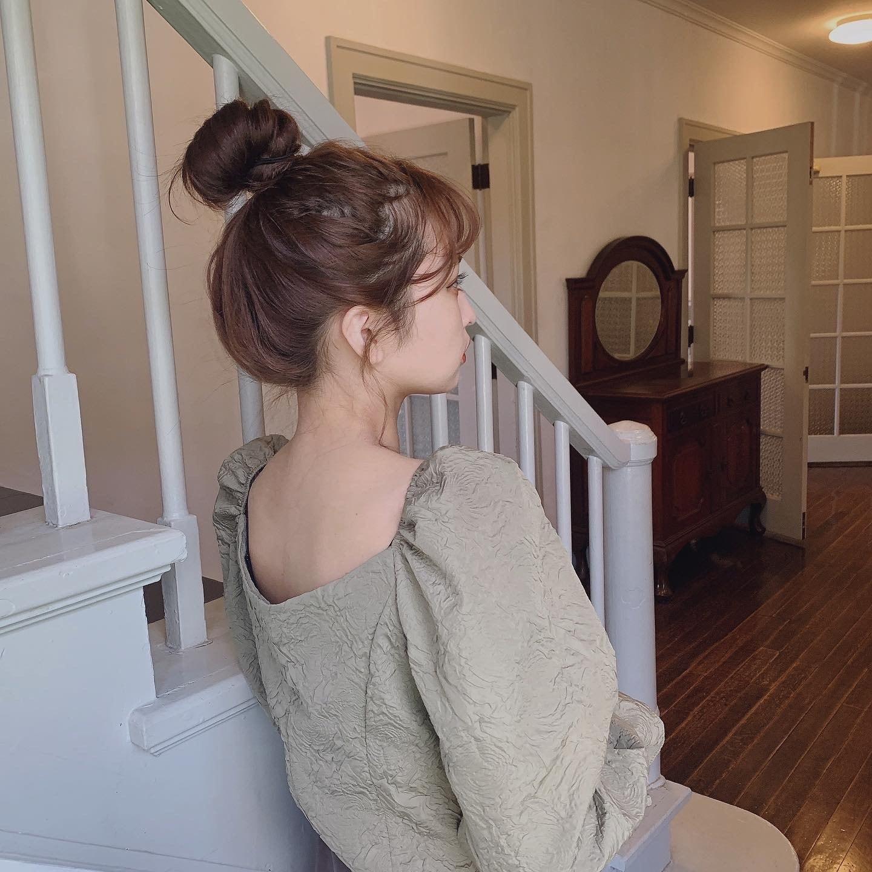 girly embossed tops