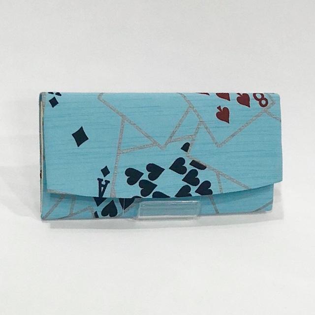【限定品】簡易財布(京友禅・トランプ柄)