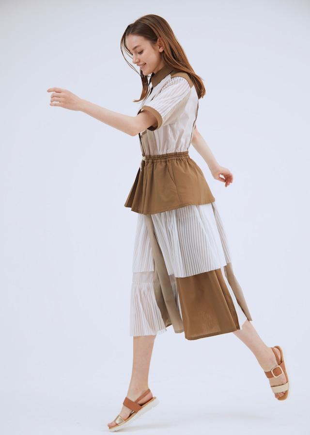 COMPLEX SHIRT DRESS