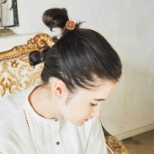 jewel / ジュエル(Hair Elastic)/ 茶