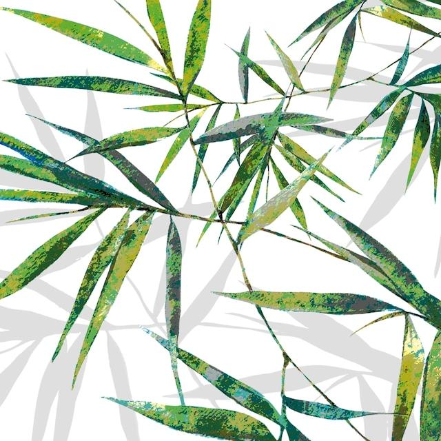 【Paperproducts Design】バラ売り2枚 ランチサイズ ペーパーナプキン Bamboo ホワイト