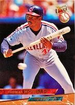 MLBカード 93FLEER Thomas Howard #185 INDIANS