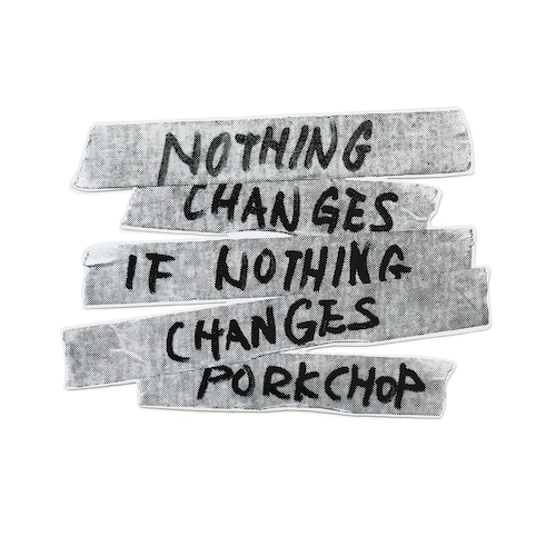 NOTHING CHANGES STICKER