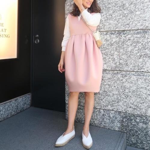 ボンディングバルーンワンピース(ピンク)