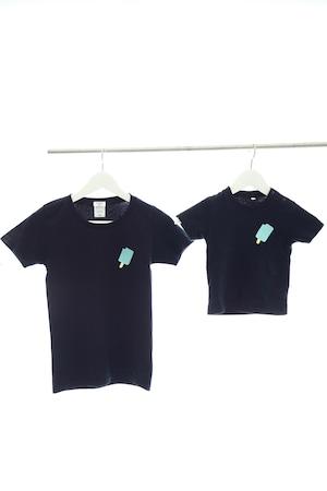 アイスキャンディー刺繍ベビーTシャツ 80・90サイズ
