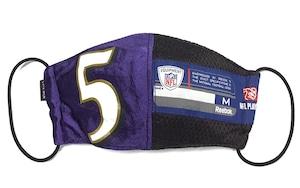 【デザイナーズマスク 吸水速乾COOLMAX使用 日本製】NFL SPORTS MIX MASK CTMR 1109011