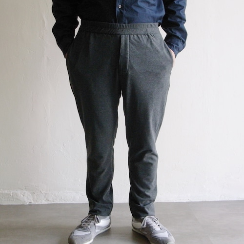 LAMOND【 mens 】strech suede tapered pants