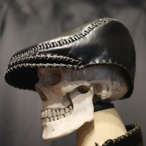 Snake head Hunting hat(BLACK HORSE)予約受付販売