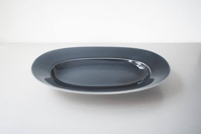 yumiko iihoshi porcelain / Oval plate(L)