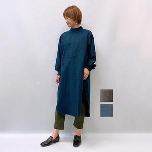 FLORENT(フローレント) ネル表起毛ハイネックワンピース 2021秋冬新作 [送料無料]