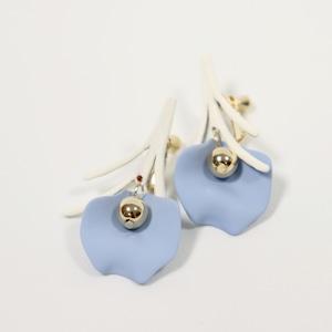 EARRINGS || 【通常商品】 WHITE TREE EARRINGS || 1 EARRINGS || SKYBLUE || CRSR0708B
