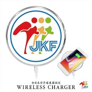 Qi対応ワイヤレス充電器 JKFロゴ入り