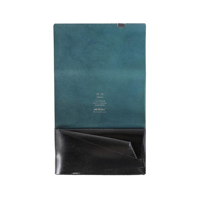 【オンラインショップ限定】ロングウォレット ブラック箔×ネイビー