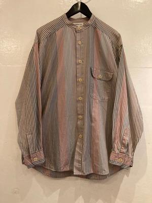 CLAIBORNE バンドカラーシャツ