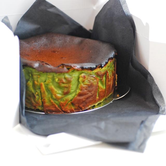ピスタチオバスクチーズケーキ(ホール)