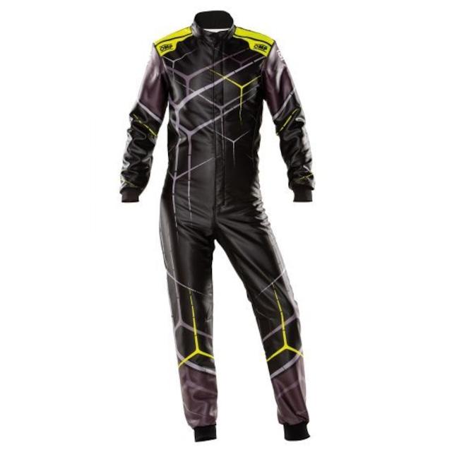 KK01726178 KS Art Suit Black/fluo yellow