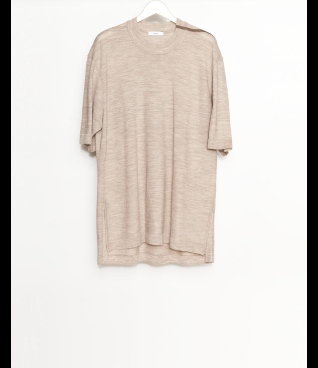 Knit T-Shirt / Beige