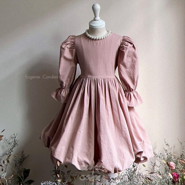 «先行予約割引» One Day for The Celebration Dress anna pink アンナピンクバルーン ワンピース