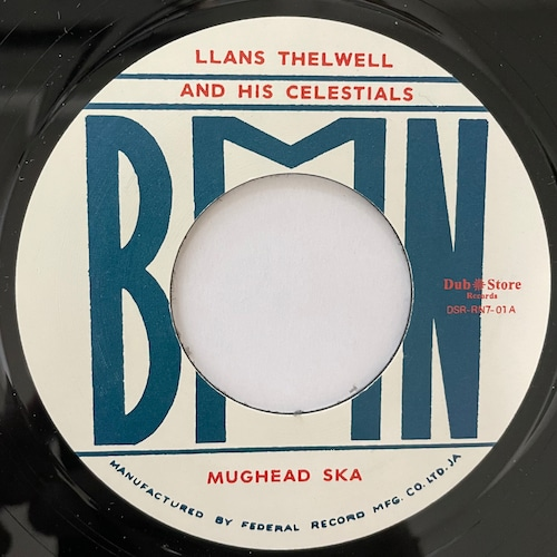 Llans Thelwell, His Celestials - Mughead Ska【7-20744】