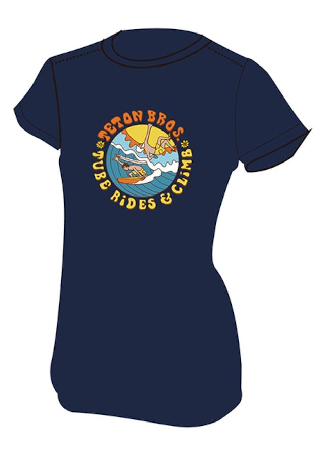 【Teton Bros】 Ws Surf and Climb Tee(Navy)