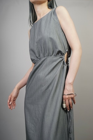 OPEN CIRCLE ONE PIECE (GRAY) 2105-24-15