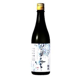 神渡 純米吟醸生貯蔵酒 氷湖の雫 箱入 720ml