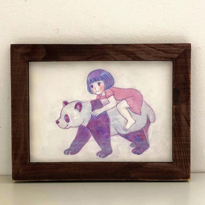 MIL「パンダにのる」