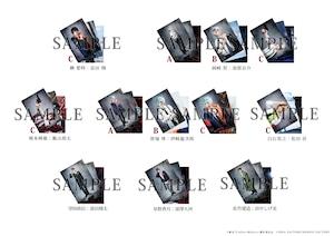 ブロマイド3枚セット2021年ver.(L版・全12種)・舞台『Collar×Malice -榎本峰雄編&笹塚尊編-』延期公演