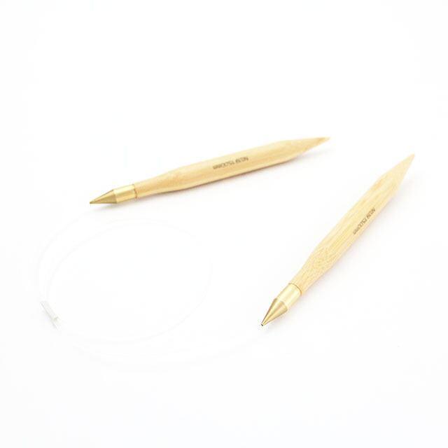 【竹製】超極太 輪針 (コード長さ80cm 太さ15mm)