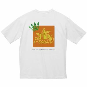 ロゴビッグTシャツ_ホワイト(トロピカル)_series0_夏期モデル