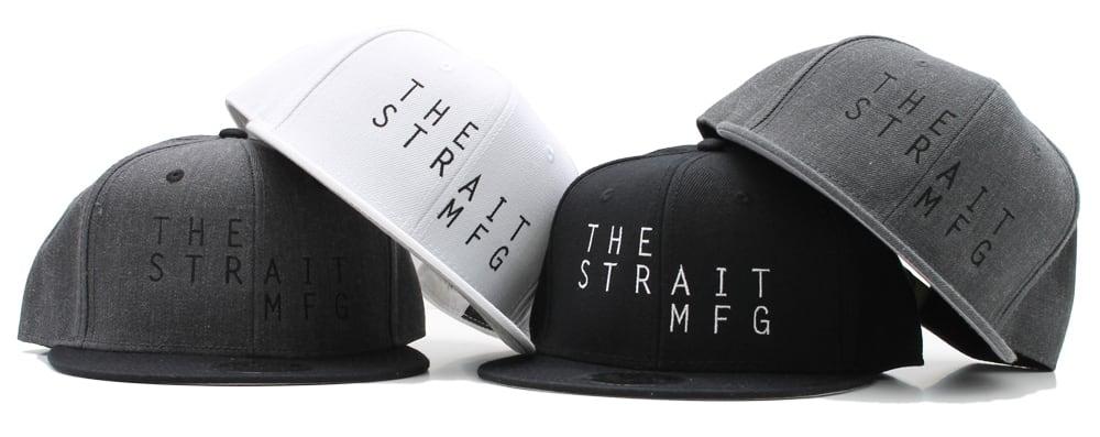TSM SNAPBACK CAP #BLACK
