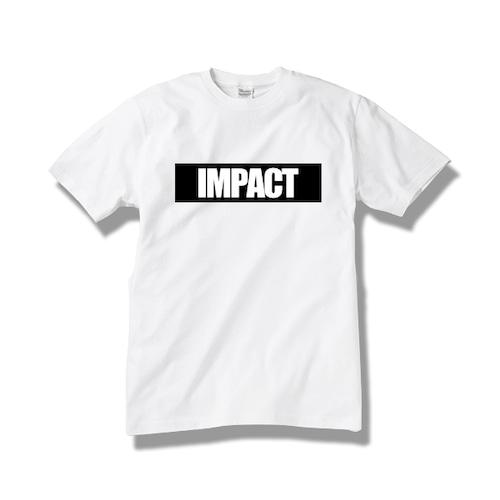 Tシャツ IMPACT / white-black