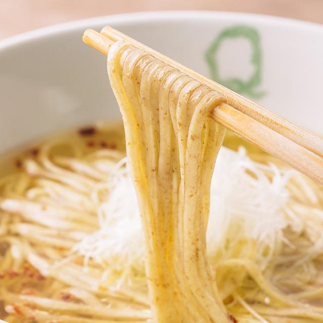 """【Japanese Ramen Noodle Lab Q】""""ハルユタカ""""  """"はるきらり"""" と""""スペルト小麦"""" のらぁ麺食べ比べ(2食セット)"""
