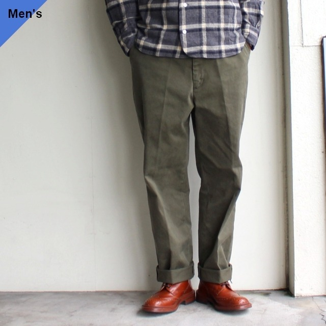 ENDS and MEANS  ワークチノ Work Chino EM-ST-P01 Olive