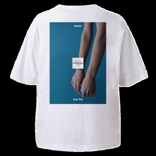 vibeca ポケットTシャツ white【ワイドフィット】