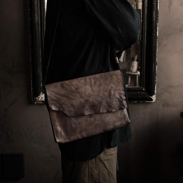 斜掛鞄 うす灰 sasaki yuichi