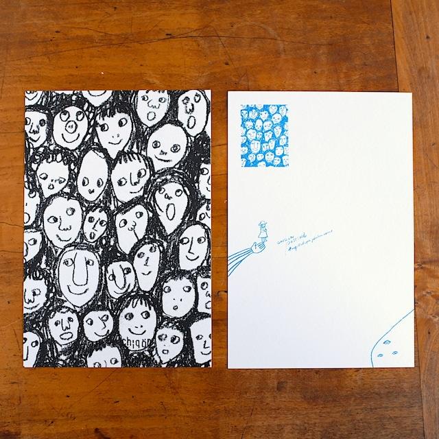 【CHIQON】postcard「集」